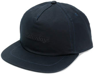 Saturdays NYC embroidered logo baseball cap
