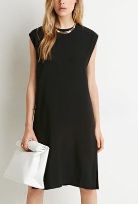 FOREVER 21+ Side Slit Shift Dress $22.90 thestylecure.com