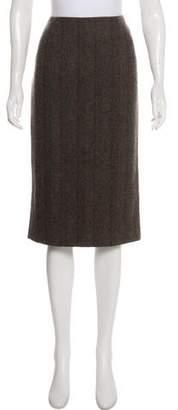 Ralph Lauren Purple Label Cashmere Knee-Length Skirt