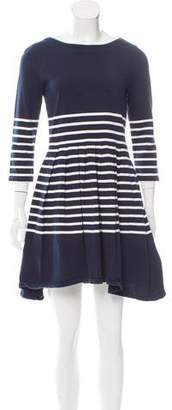 Boy By Band Of Outsiders Striped Pleated Dress