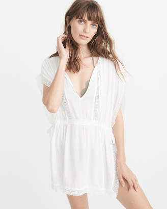 Abercrombie & Fitch Lace Pieced Cover-Up
