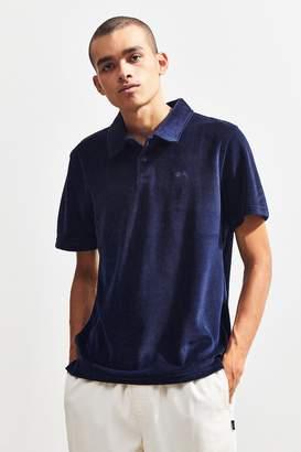 Stussy Victor Velour Polo Shirt