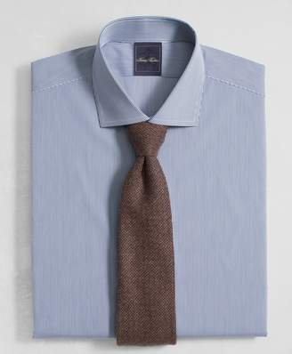 Brooks Brothers Golden Fleece Milano Slim-Fit Dress Shirt, English Collar Mini Gingham