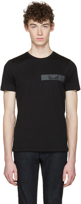Fendi Black 'Bag Bugs' T-Shirt $340 thestylecure.com