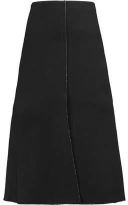 Tibi Crepe Midi Skirt