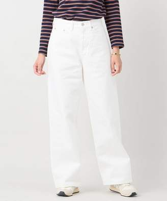 BONUM (ボナム) - BONUM WH-wide ホワイト 5Pocket Pants