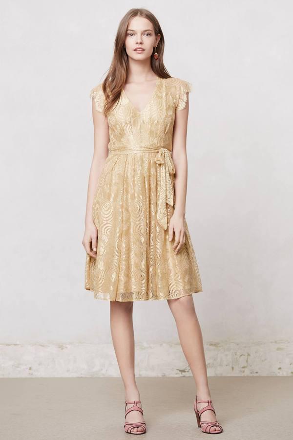 Anthropologie Golden Hour Dress