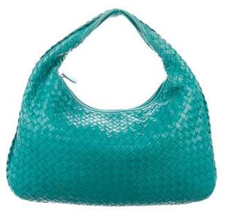 Bottega Veneta Medium Intrecciato Hobo Bag Teal Medium Intrecciato Hobo Bag