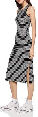 BCBGeneration Striped Tank Midi Dress