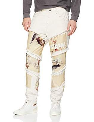 G Star Men's Spiraq RFTP Patches Desert 3D Slim Jeans