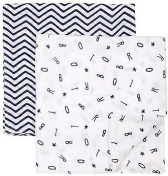 Petit Lem Essentials Two-Piece Swaddle Blanket Set