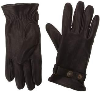 Schott NYC Men's GL1680 Gloves, Black, Large (Size: L)