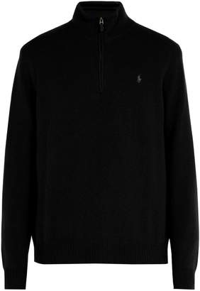 Polo Ralph Lauren Logo-embroidered wool-blend sweater