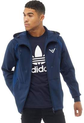 adidas x White Mountaineering Mens Hooded Track Top Collegiate Navy