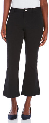 pink tartan Flared Cropped Pants $295 thestylecure.com