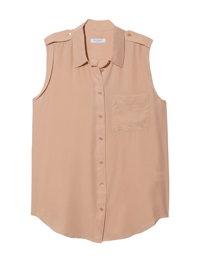 Equipment Sleeveless Daddy Blouse
