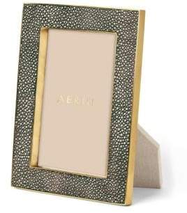 AERIN Classic Embossed Shagreen Picture Frame
