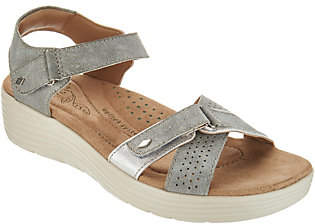 Earth Origins Adjustable Multi Strap Sandals -Gaven
