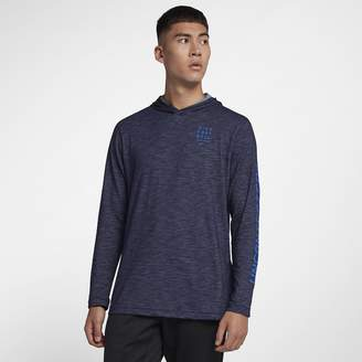 Nike Long-Sleeve Football Hoodie Dri-FIT