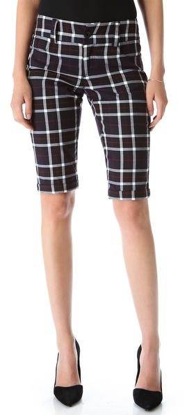 Alice + Olivia 5 Pocket Cuffed Shorts