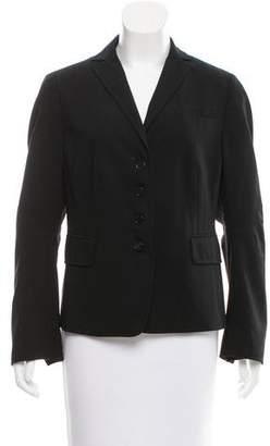 Akris Punto Wool Deconstructed Blazer