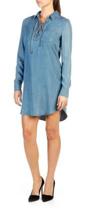 Paige Billi Chambray Shirtdress