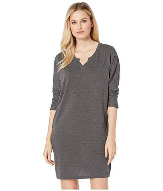 Lorelei American Rose V-Neck Sweatshirt Dress