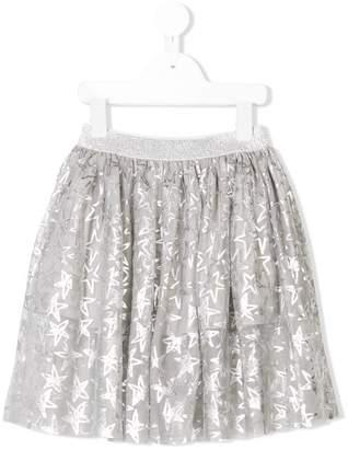 Stella McCartney star print tulle skirt