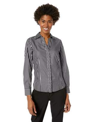 Foxcroft Women's Taylor Non Iron Stripe Shirt