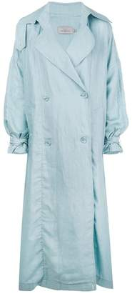 Preen by Thornton Bregazzi oversized trench coat