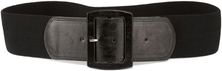JCPenney Stretch Covered Buckle Belt