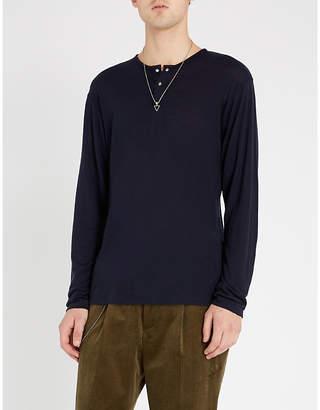 The Kooples Crewneck long-sleeved wool top