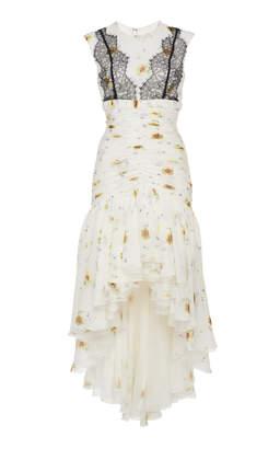 Giambattista Valli High/Low Floral Dress
