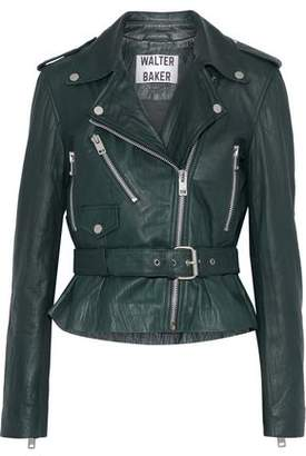 Walter W118 By Baker Celina Leather Biker Jacket