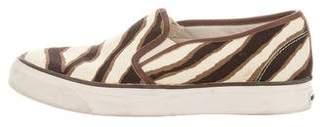 Michael Kors Canvas Slip-On Sneakers