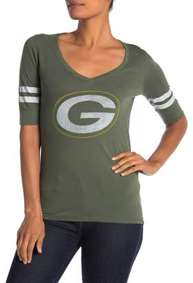 '47 Green Bay Packers Elbow Sleeve Graphic T-shirt
