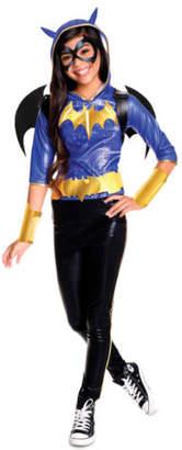 NEW DC Super Hero Girls Superhero Girl Batgirl Deluxe Costume size 6-8