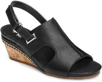 0047075c0ff5 Aerosoles Black Strap Women s Sandals - ShopStyle