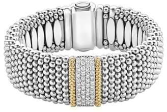 Lagos Diamond Lux Pave Station Rope Bracelet