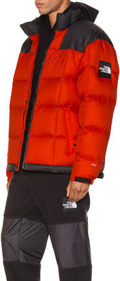 The North Face Black Box Lhotse Jacket in Tangerine Tango | FWRD