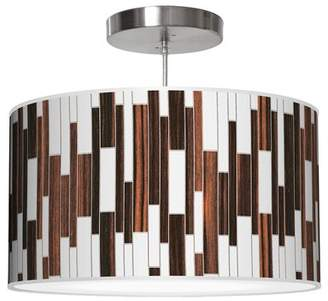 Jefdesigns Jef Designs Tile 1 Drum Pendant Jef Designs