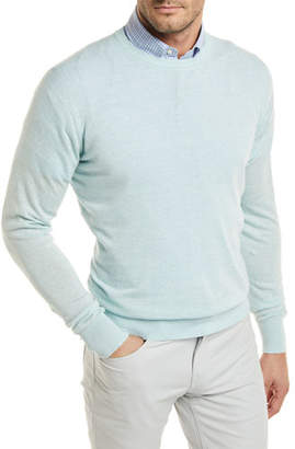 Peter Millar Crown Cool Crewneck Wool-Blend Sweater