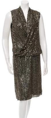 Diane von Furstenberg Sequin Issie Dress w/ Tags