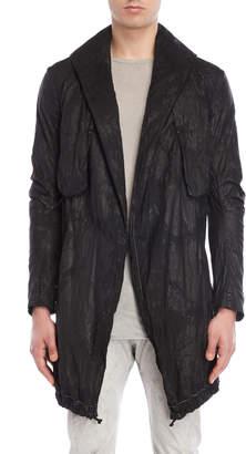 Masnada Black Lightweight Parka Jacket