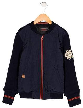 Catimini Boys' Knit Zip-Up Jacket