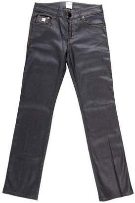 RED Valentino Straight-Leg Denim Jeans