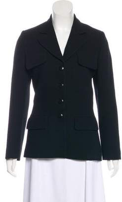 Sonia Rykiel Structured Peak-Lapel Blazer