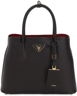 Prada Saffiano Leather Top Handle Bag