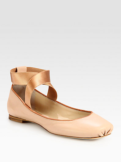 Chloé Leather Ballet Flats