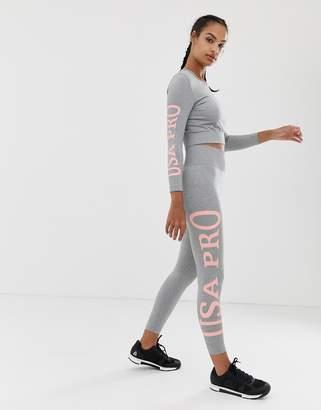 USA Pro branded leggings